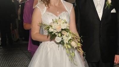 Sprzedam śliczną suknię tiulową z Salonu Michalak