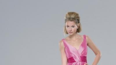 Sprzedam śliczną suknię w kolorze brzoskwini