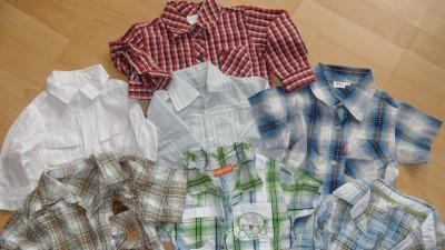 Sprzedam śliczne koszulki i kamizelki dla małego przystojniaka!