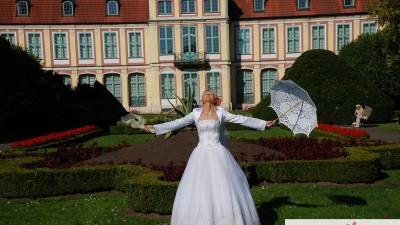 sprzedam - Sukienka ślubna princessa - roz 36/38 - malbork