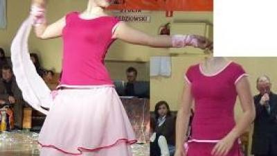 sprzedam sukienkę 2w1 do tańca towarzyskiego