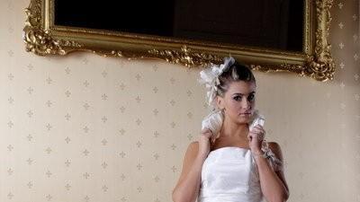 sprzedam sukienke ślubną LUCIE - raz używana, stan bdb