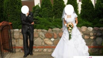 sprzedam sukne ślubną
