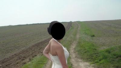 [SPRZEDAM]Suknia ślubna Agora, śmietankowa, odpinany tren!