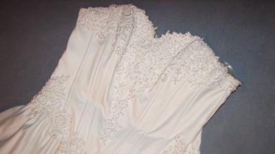 sprzedam Suknia ślubna bialą 38 40