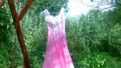 Sprzedam suknię balową,różowa