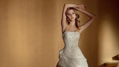 Sprzedam suknię Bianca San Patrick, biała, rozmiar 36/38