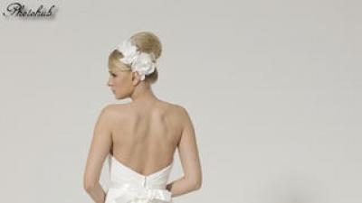 Sprzedam suknie, która była modelem pokazowym w salonie sukien ślubnych.