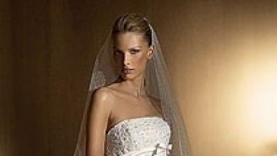 Sprzedam suknię San Patrick, model Beret, w kolorze smietankowym, 36/38