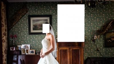 Sprzedam suknię ślubmą Blue Galloway rozm 38 - okazja
