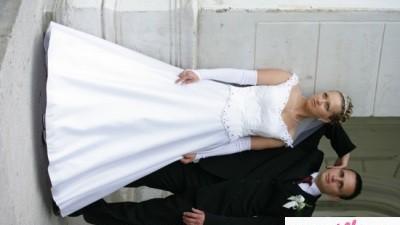 Sprzedam suknie slubna:)