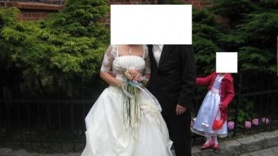 Sprzedam suknie slubna :)