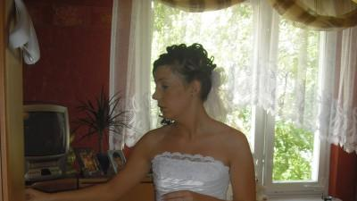 Sprzedam suknie ślubną:)