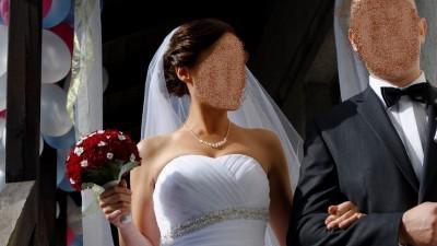 Sprzedam suknię ślubną Agnes kolekcja Platinium 10703