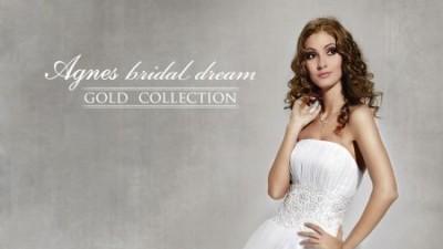 Sprzedam suknię ślubną AGNES model 10221 z 2010r. - typowa księżniczka