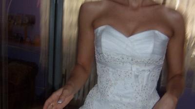 Sprzedam suknie ślubną AgORa model 28-14
