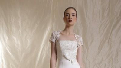 Sprzedam suknię ślubną - Agora - z kamieniami Swarovskiego