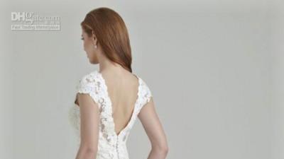 Sprzedam Suknię Ślubną ALLURE BRIDALS - hiszpańska koronka