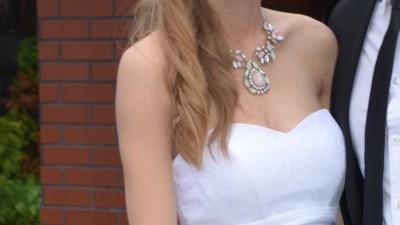 Sprzedam suknię ślubną Anna Kara ELIS r. 36