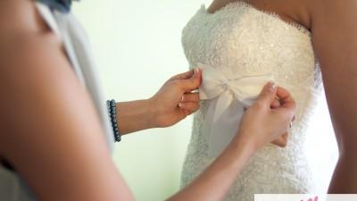 sprzedam suknie ślubną Annais Bridal model Bonnie rozmiar 36 kolor ivory