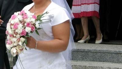 Sprzedam suknię ślubną Annais-Moon-rozmiar 16+welon