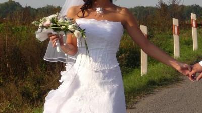 sprzedam suknie ślubną białą tanio!!!!