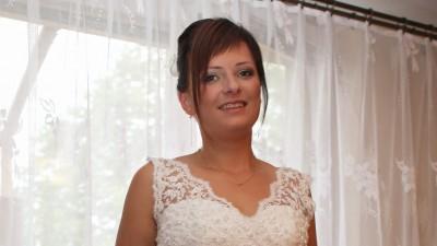 sprzedam suknię ślubną, bolerko i welon