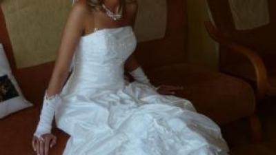 Sprzedam suknię ślubną CENA 450ZŁ