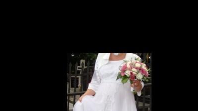 Sprzedam suknie ślubną ciążową