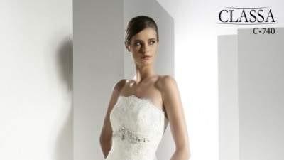 Sprzedam suknie ślubną Classa C 740