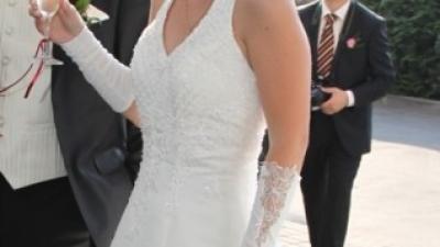 Sprzedam suknie ślubną Corsa