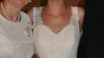 sprzedam suknię ślubną- dla wysokiej