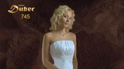 Sprzedam suknię ślubną + dodatki w kolorze ECRU z kolekcji MBM DUBER