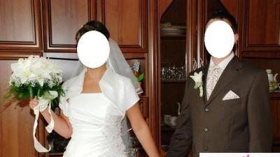 Sprzedam suknię ślubną ecru!!!!!!!