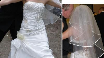 Sprzedam suknię ślubną ekri