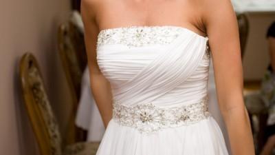 Sprzedam suknię slubną emmi mariage rozm. 36/38 kolekcja 2009 + GRATIS narzutka!
