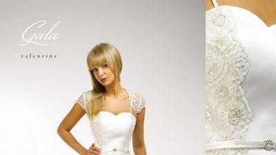Sprzedam suknię ślubną Gala, rozmiar 40