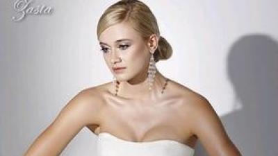 Sprzedam suknię ślubną Gala Zasta 36/38 + szal w róże gratis