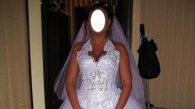 Sprzedam suknię ślubną-gorset rękodzieło