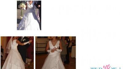 Sprzedam suknie ślubną + gratis