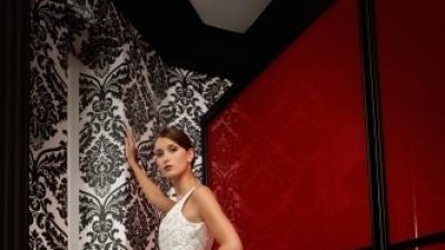 Sprzedam suknię ślubną Herm's Enya z Salonu Adeline Wrocław r.38-40 z dodatkami