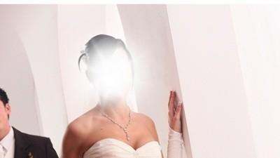 Sprzedam suknie ślubną, kolor jasny ecru.