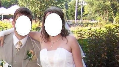 Sprzedam suknię ślubną koloru ecri
