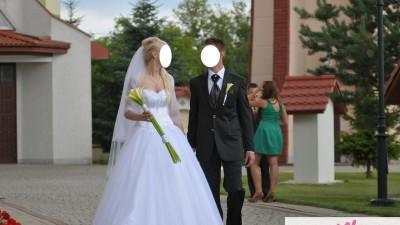 Sprzedam Suknie Ślubna Księżniczke