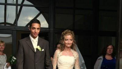 sprzedam suknie slubna la sposa z bolerkiem