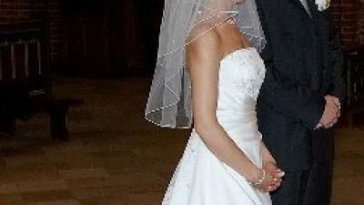 Sprzedam suknię ślubną Lisa Ferrera
