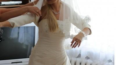 Sprzedam suknie ślubną Lisa Ferrera z kolekcji 2011 Cosmobella Milano nr 7