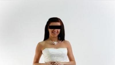 Sprzedam suknię ślubną (marszczenia)roz.38