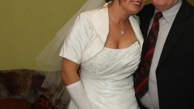 sprzedam suknię ślubną model 2009 HERM'S ELERI