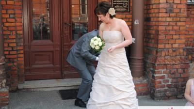 Sprzedam suknię ślubną na ślub kościelny lub cywilny